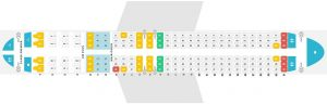 Seat Map and Seating Chart Aeromexico Boeing 737 Max 8