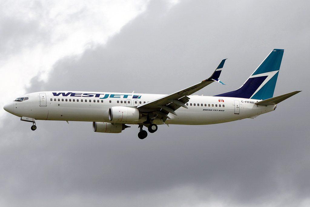 WestJet Boeing 737 8CT C FRWA YVR