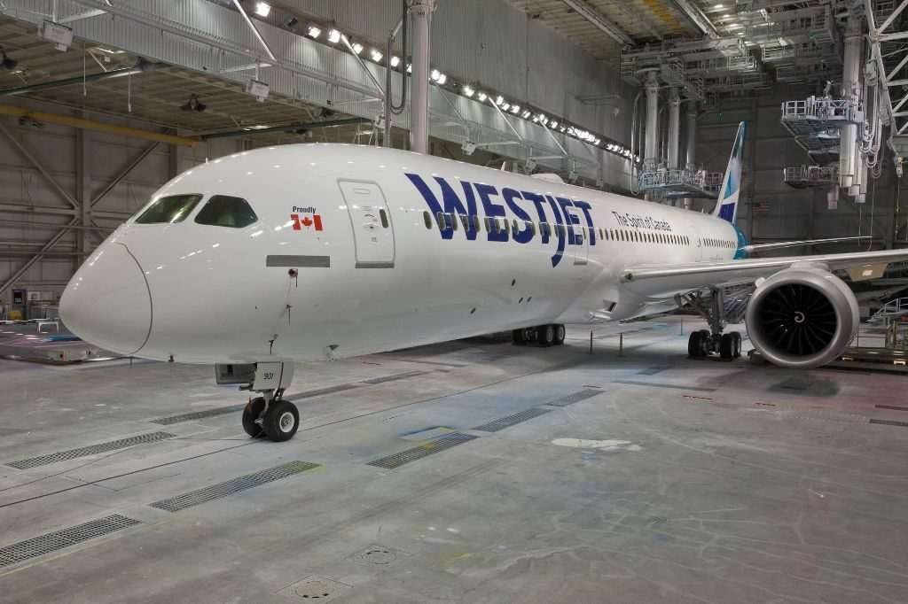 WestJet Boeing 787 9 Dreamliner C GUDH Aircraft Fleet Photos