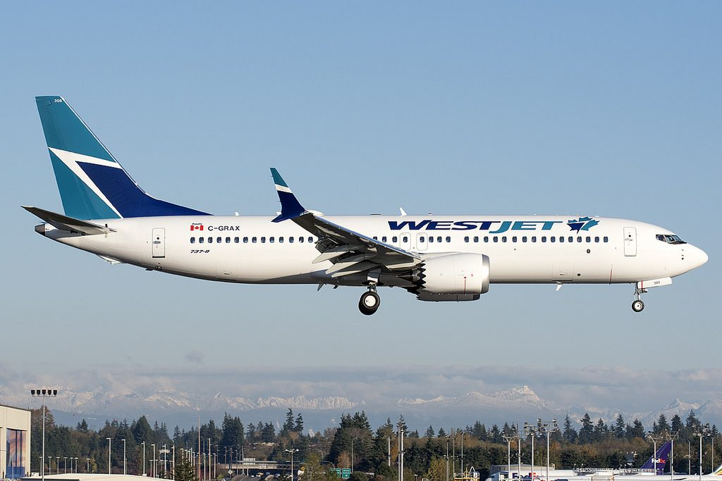 Westjet Aircraft Fleet Boeing 737 Max 8 C GRAX Photos