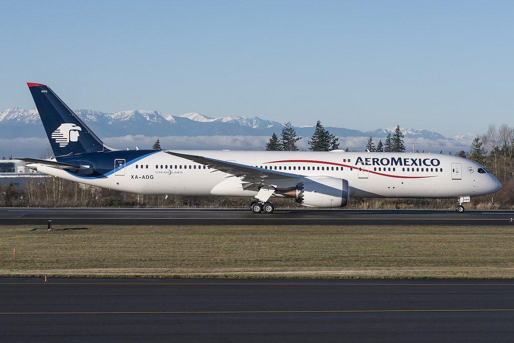 XA ADG Boeing 787 9 Dreamliner Guadalupe Aeromexico Aircraft Fleet Photos