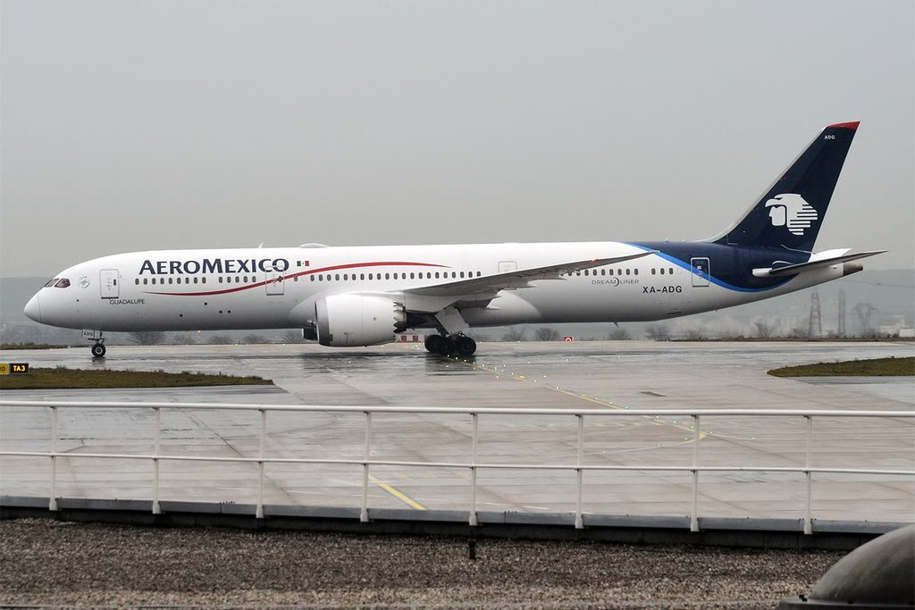 XA ADG Boeing 787 9 Dreamliner Guadalupe Aeromexico Aircraft Fleet at Paris Charles de Gaulle Airport