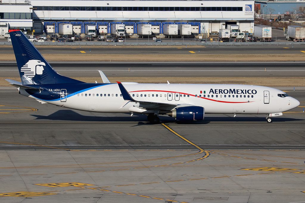XA ADU Boeing 737 852W AeroMexico at New York JFK Airport