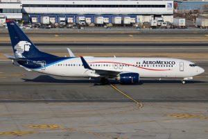 XA ADU Boeing 737 852W AeroMexico at New York JFK Airport