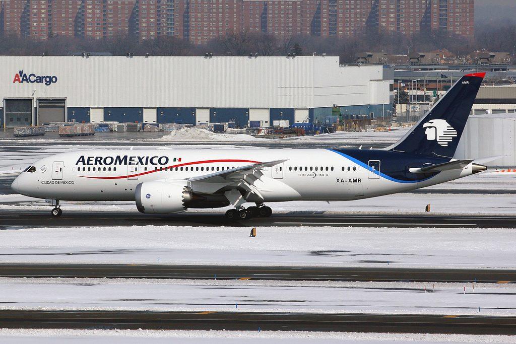 XA AMR Boeing 787 8 Dreamliner AeroMexico Ciudad de México at New York John F. Kennedy JFK