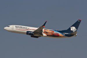 XA AMS Boeing 737 800 Aeromexico Aircraft Fleet Departing LAX Airport
