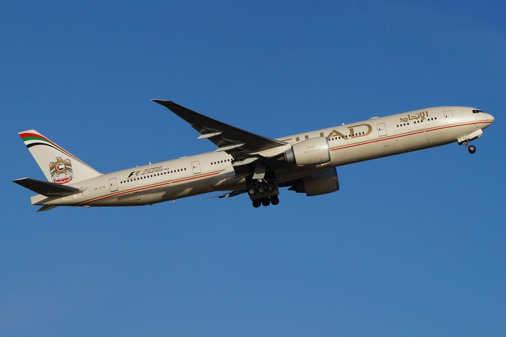 A6 ETN Etihad Airways Boeing B777 3FXER Widebody Aircraft Photos