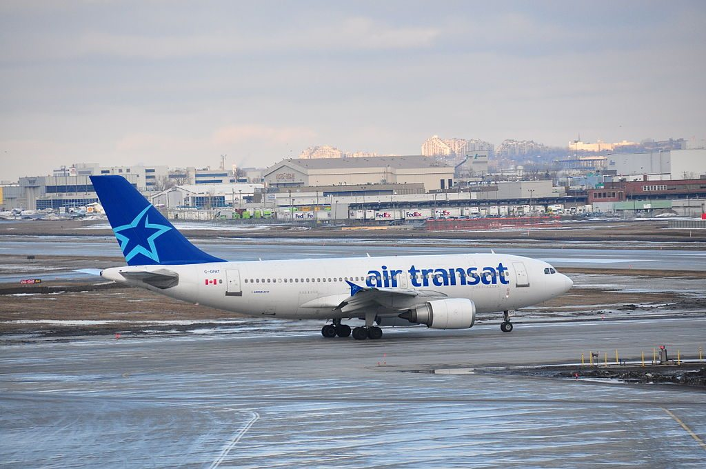 Air Transat Airbus A310 300 C GPAT at Montréal Pierre Elliott Trudeau International Airport