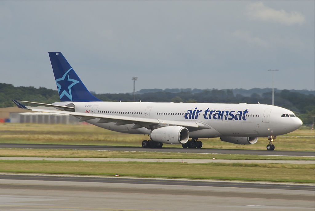 Air Transat Airbus A330 200 C GTSR at Frankfurt Airport
