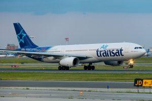 Air Transat Airbus A330 300 C GTSD departing Toronto Pearson International Airport YYZ