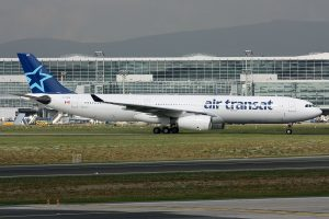 Air Transat Airbus A330 342 C GTSO at Frankfurt am Main Rhein Main AB FRA EDDF FRF Germany