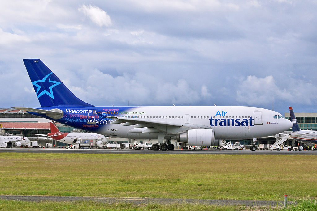 Airbus A310 300 of Air Transat C GTSH Widebody aircraft photos
