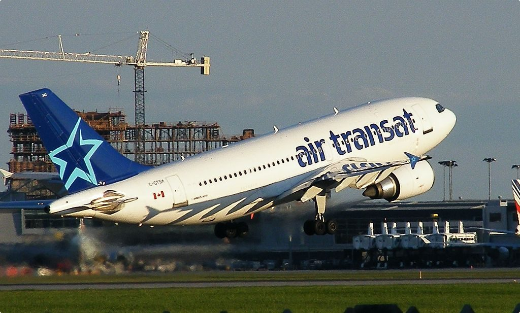 Airbus A310 300 of Air Transat C GTSH at Montréal Pierre Elliott Trudeau International Airport