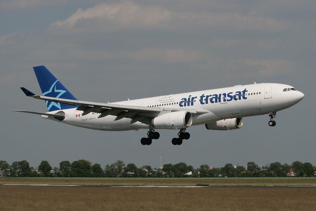 Airbus A330 243 Air Transat Aircraft Fleet C GITS at Amsterdam Schiphol AMS EHAM Netherlands