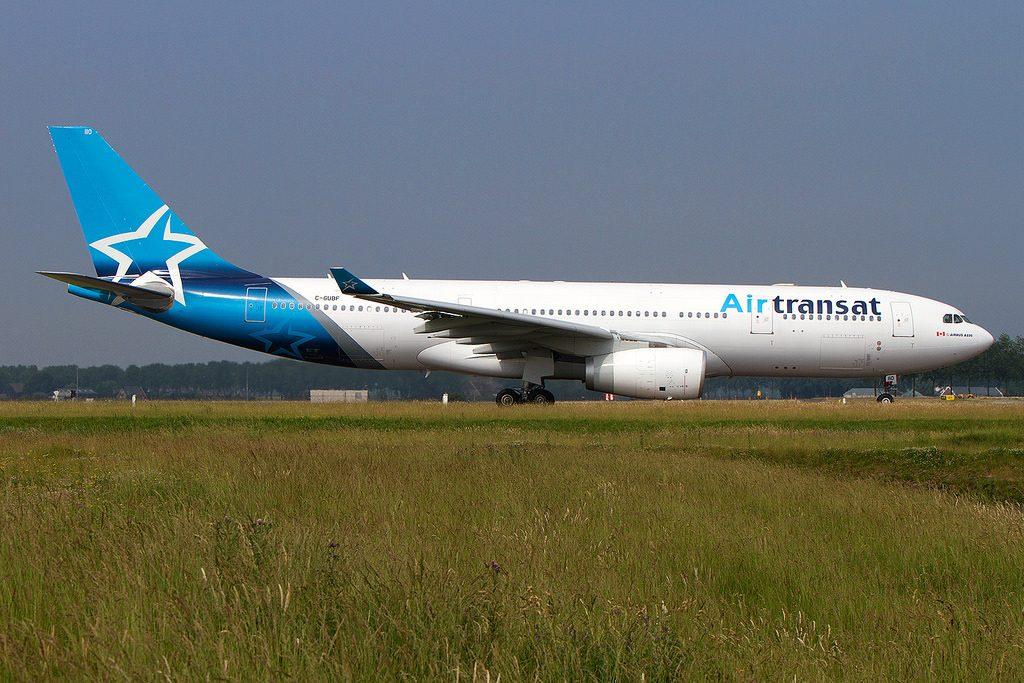 Airbus A330 243 Air Transat C GUBF at Amsterdam Schiphol AMS EHAM