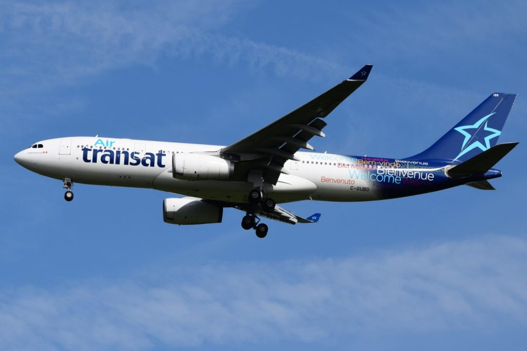 Airbus A330 243 C GUBD— Air Transat Aircraft Fleet Photos