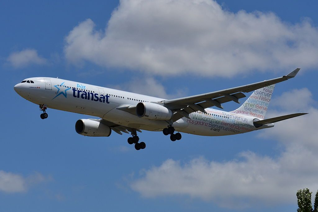 Airbus A330 300 Air Transat TSC C GKTS at Toulouse Blagnac International Airport