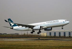 Airbus A330 300 B LAC Cathay Pacific at Beijing Capital International Airport