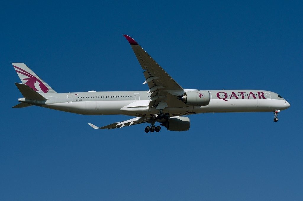 Airbus A350 1000 XWB aircraft fleet Qatar Airways A7 AND photos