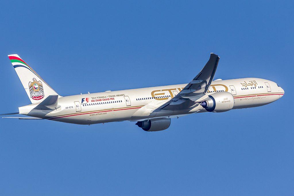 Boeing 777 3FXER Etihad Airways A6 ETS CDG