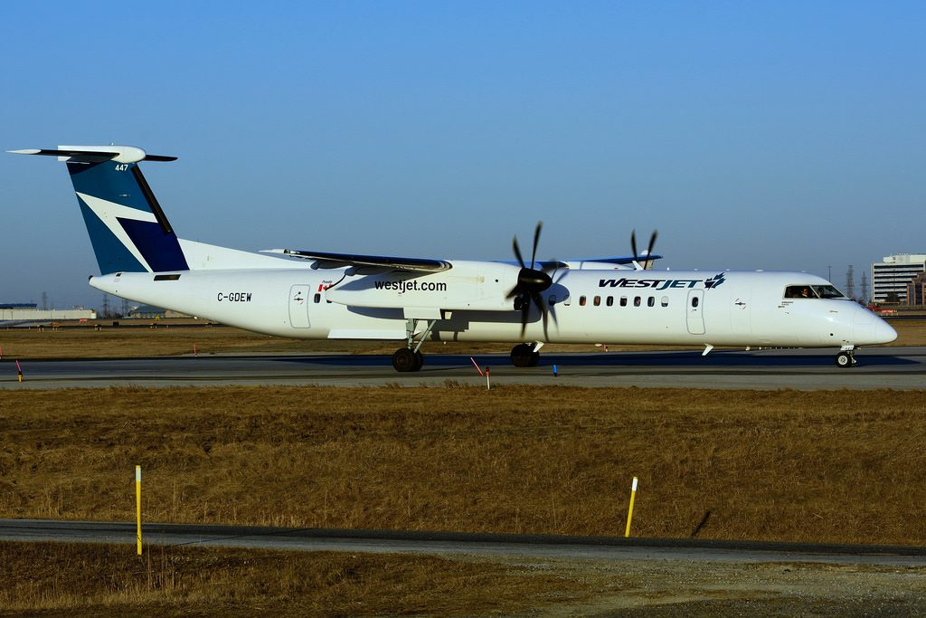 Bombardier Dash 8 Q400 C GDEW WestJet Encore Aircraft Fleet Photos
