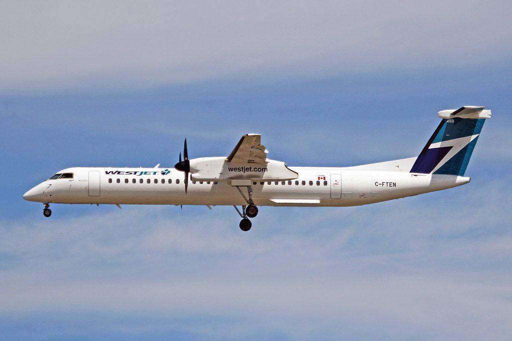 C FTEN Bombardier Dash 8Q 403NG WestJet Encore YVR