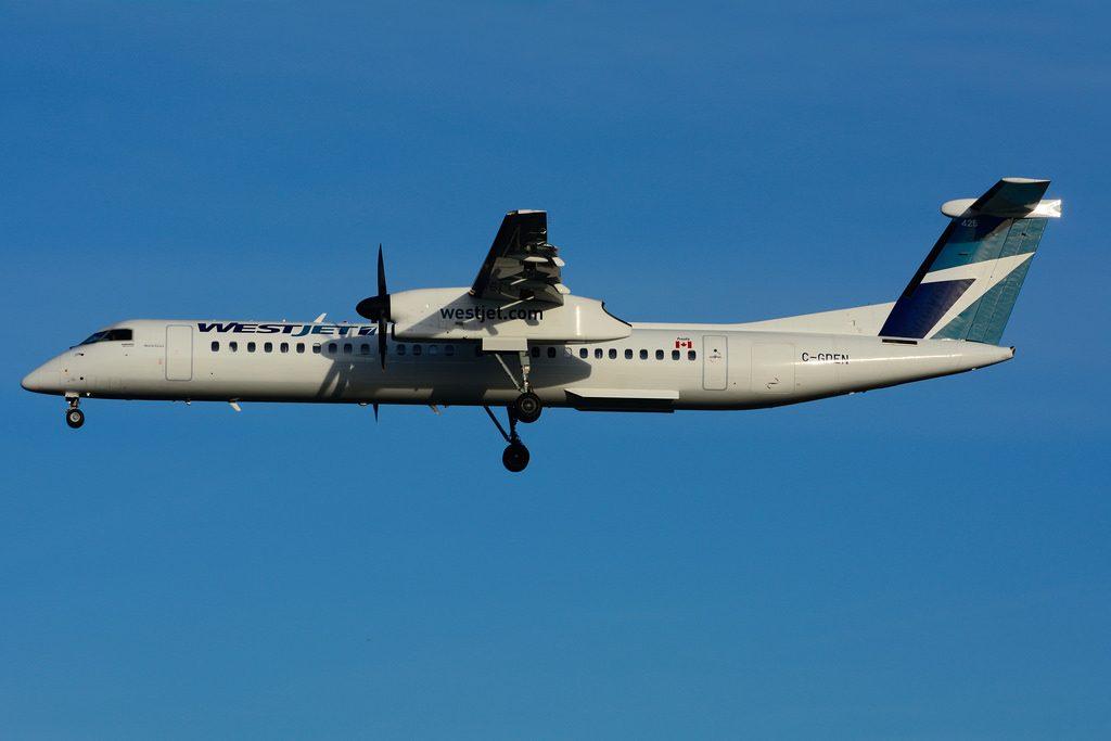 C GDEN Bombardier DHC 8Q 402 WestJet Encore