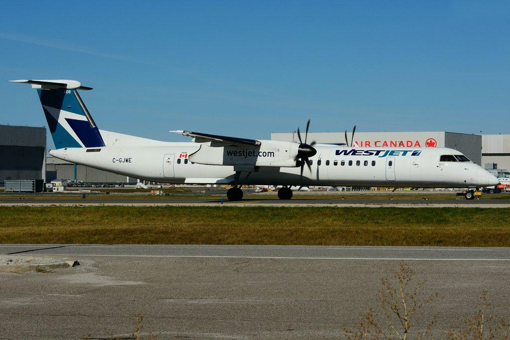 C GJWE Bombardier DHC 8Q 402 WestJet Encore