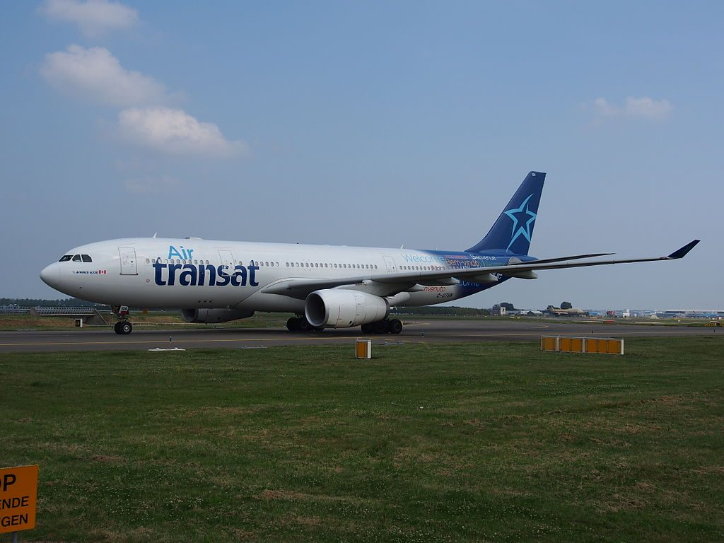 C GTSN Air Transat Airbus A330 243 at Amsterdam airport Schiphol the Netherlands