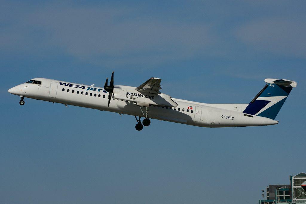 C GWEG Bombardier DHC 8Q 402 WestJet Encore