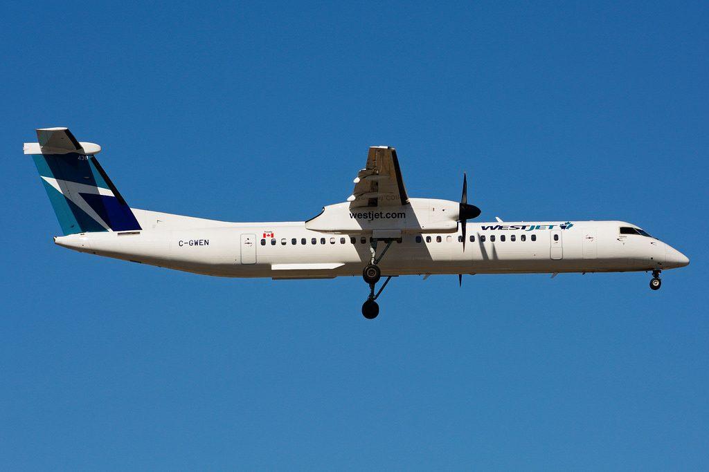 C GWEN Bombardier DHC 8Q 402 WestJet Encore