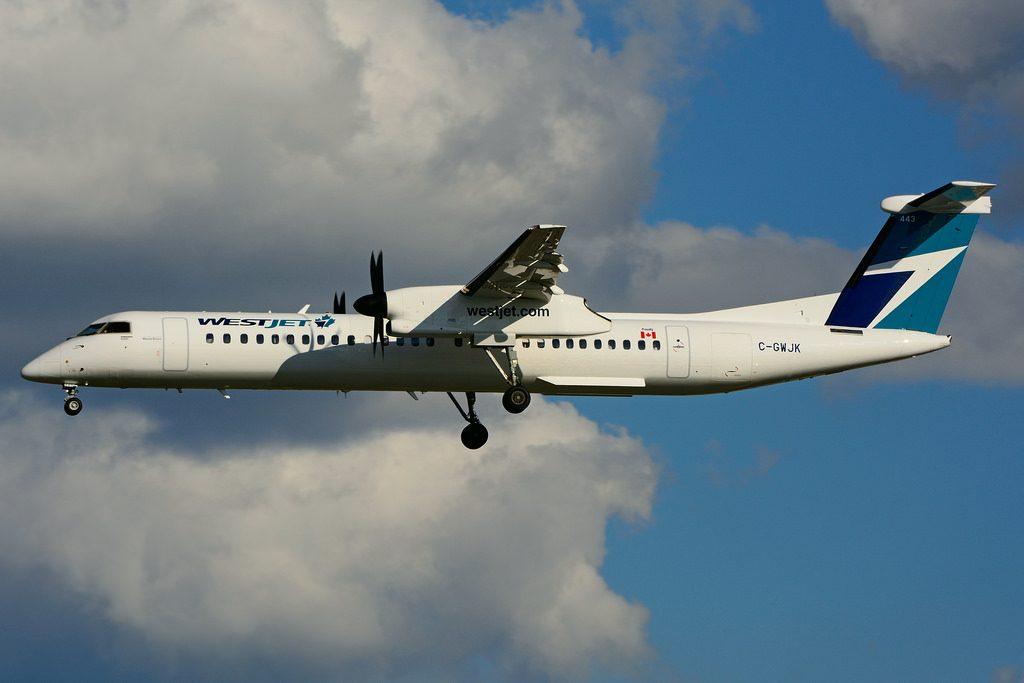 C GWJK Bombardier DHC 8Q 402 WestJet Encore
