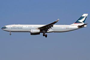 Cathay Pacific Airbus A330 343X B LAX at NRT Narita International Airport
