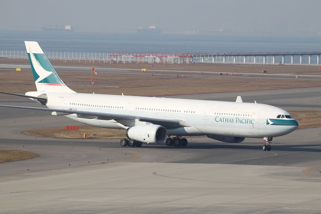 Cathay Pacific Aircraft Fleet B HLD Airbus A330 300 at Nagoya Chūbu Centrair International Airport
