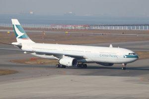 Cathay Pacific Aircraft Fleet B HLD Airbus A330 300 at Nagoya Chūbu Centrair International Airport