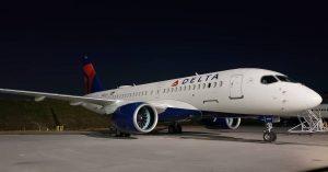 Delta Air Lines Fleet N102DU Airbus A200 100 Bombardier CSeries Aircraft Photos