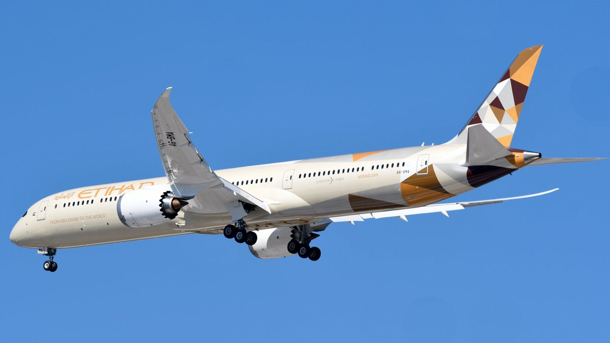 Etihad Airways A6 BMA Boeing 787 10 Dreamliner Aircraft Photos