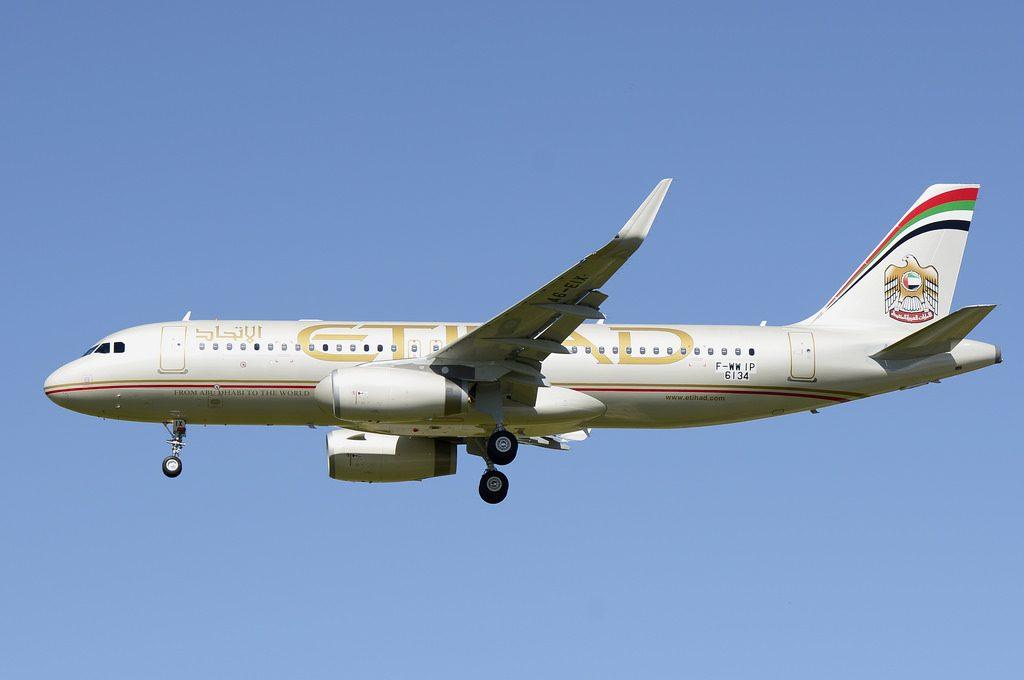 Etihad Airways Airbus A320 200 A6 EIX Narrowbody aircraft photos