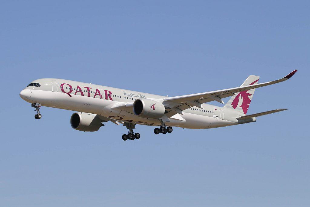 F WWDW A7 AMF Airbus A350 941 Qatar Airways