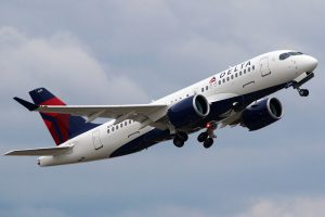 N101DU Delta Air Lines Aircraft Fleet Airbus A220 100 Photos