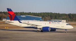 N103DU Bombardier CSeries Airbus A220 100 Delta Air Lines Aircraft Fleet Photos