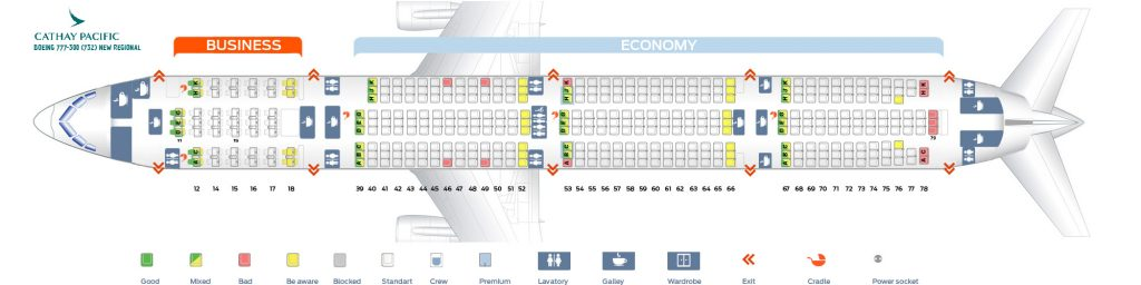 Cathay Pacific Fleet Boeing 777-300/ER Details and Pictures ...