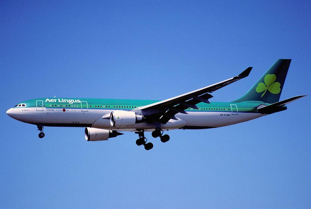 Aer Lingus Airbus A330 202 EI DAA St Keeva Caoimhe at Los Angeles International Airport