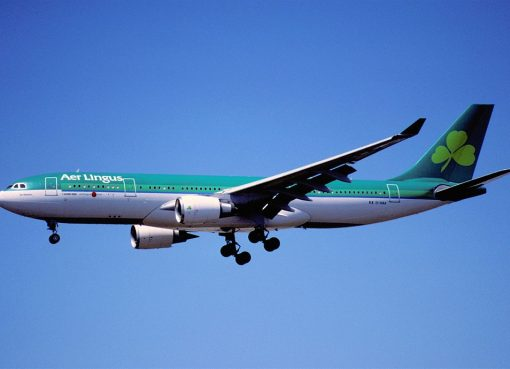 Aer Lingus Airbus A330 202 EI DAA St Keeva Caoimhe at Los Angeles International Airport