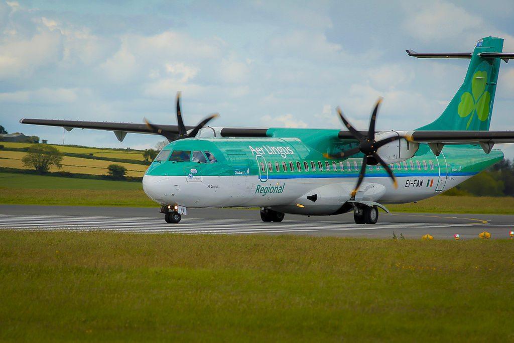 Aer Lingus Regional Stobart Air ATR 72 600 EI FAW St. Cronan Cronán