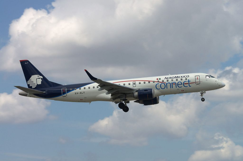Aeromexico Connect Embraer ERJ 190 XA ALY at Miami International Airport