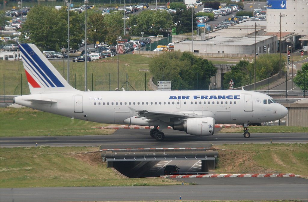Air France Airbus A319 111 F GRXD at Paris Charles de Gaulle Airport CDG