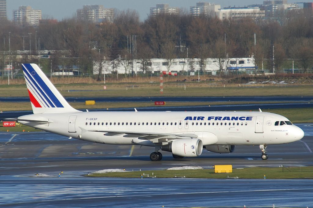 Air France Airbus A320 214 F GKXP at Amsterdam Airport Schiphol AMS
