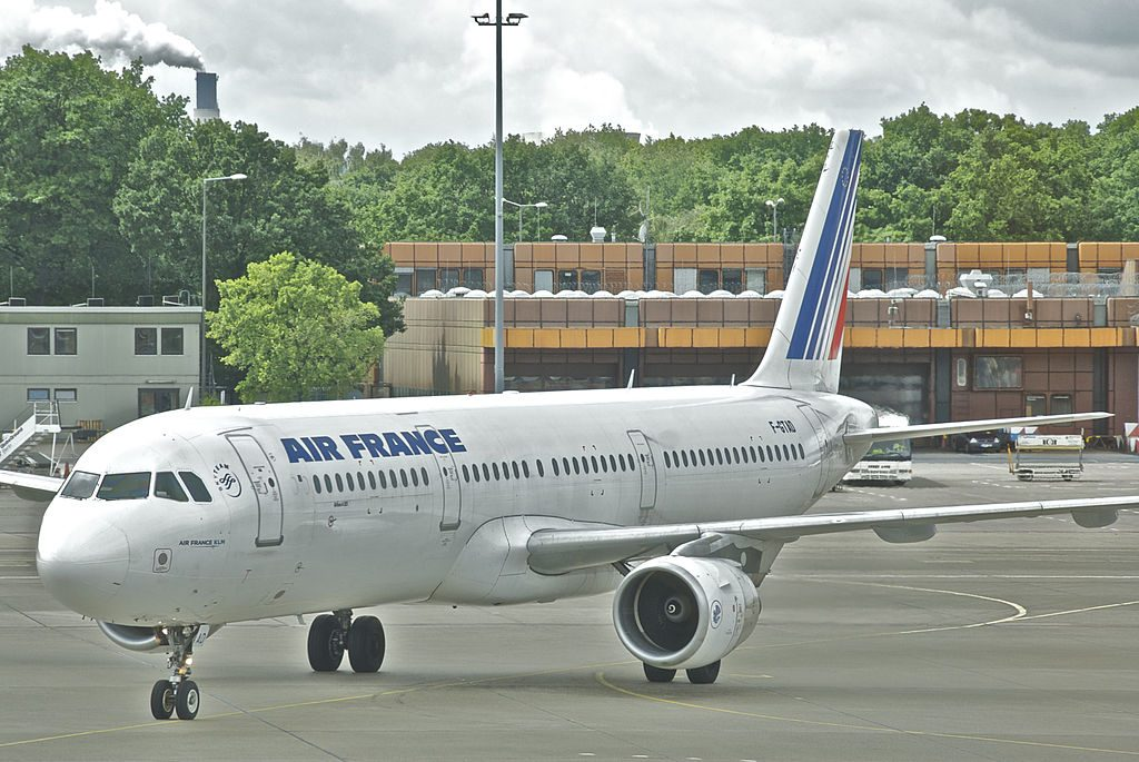 Air France Airbus A321 211 F GTAD at Berlin Tegel Airport