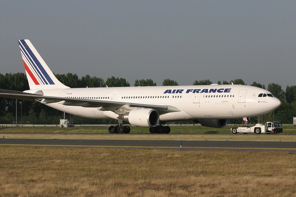 Air France Airbus A330 200 F GZCN at Paris Charles de Gaulle Airport